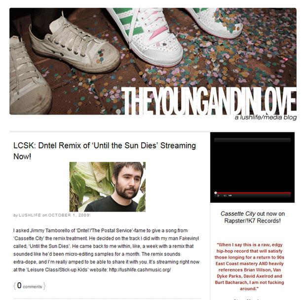 Music Artists Blog