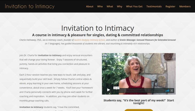 Invitation to Intimacy